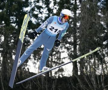 ジャンプ成年男子は岩佐V、国体 スキー第2日 画像1