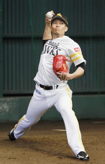 ソフトB千賀、順調に101球 捕手を座らせ手応え語る 画像1