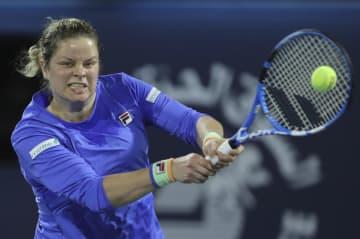 テニスのクライシュテルスが復帰 元世界ランキング1位、ドバイで 画像1
