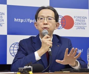 「五輪は復興完了ではない」 福島県知事、外国メディアに 画像1