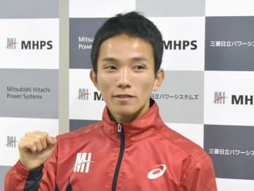 マラソン、井上「優勝争い絡む」 東京五輪代表入り目指す 画像1