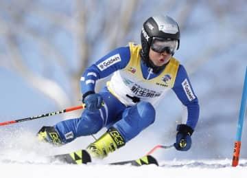 黒岩樹生が少年男子大回転V 国体スキー最終日 画像1