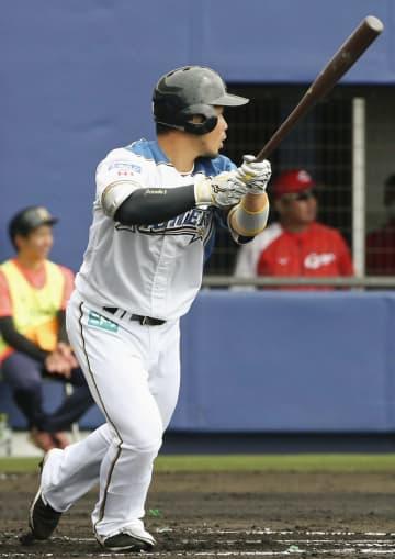 日本ハムの近藤、全打席出塁 広島と練習試合 画像1