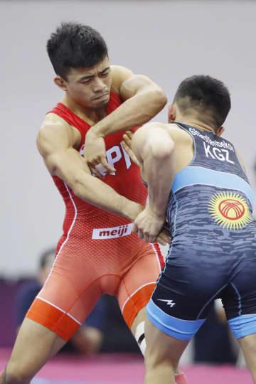 グレコ文田が3年ぶり優勝 レスリングのアジア選手権 画像1