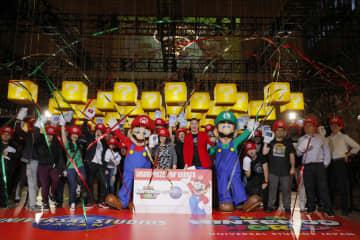 USJ、NYで「マリオ」PR 新エリア開業向け 画像1