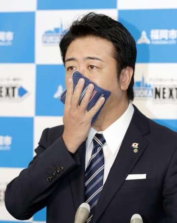 九州初の感染、緊張走る 首長が予防策実演も 画像1