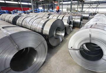 中国、鋼材の在庫だぶつく 海外流出で日本に打撃も 画像1