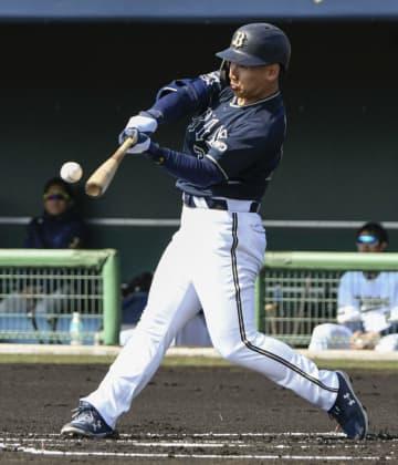 オリックス吉田正、実戦初本塁打 「速球に自分のスイングできた」 画像1