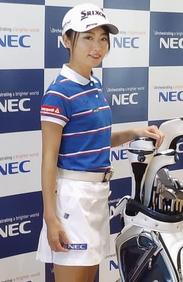 ゴルフ安田、NECと所属契約 開幕戦に意欲 画像1