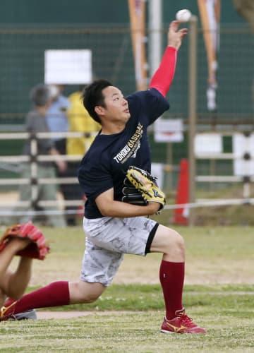 楽天の松井が2度目の実戦へ オープン戦に向け調整 画像1