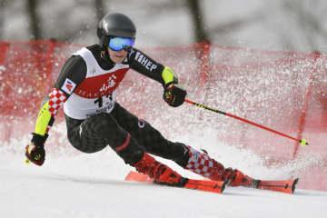 スキー大回転、ズブチッチ初優勝 W杯苗場大会、12位から逆転 画像1