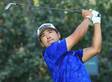 男子ゴルフ、松山は9位に後退 首位と6打差、メキシコ選手権 画像1