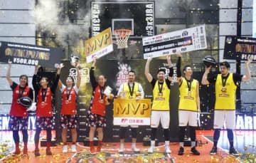 男子はTSUKUBAが優勝 バスケ3人制、日本選手権 画像1