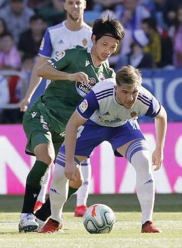 サッカー、柴崎岳は退場 スペイン2部、香川真司出番なし 画像1