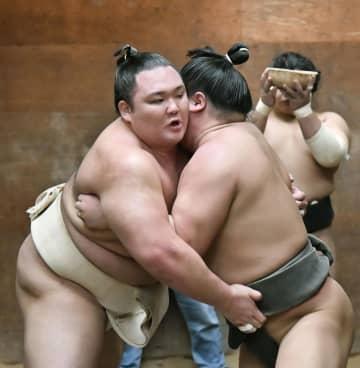 朝乃山、大関昇進へ本格始動 春場所へ「動き悪くない」 画像1