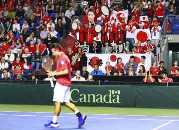 デ杯テニス、無観客で開催へ 錦織ら出場、3月兵庫県で 画像1