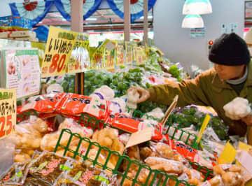 1月のスーパー売上高、2%減 新型肺炎の影響は限定的 画像1