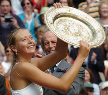 シャラポワが引退 元世界1位、四大大会5勝 画像1
