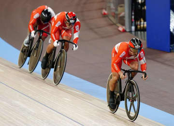 男子チームスプリントは五輪逃す 自転車世界選手権、予選で敗退 画像1