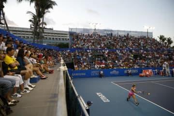 テニス、日比野菜緒は2回戦敗退 メキシコオープン女子シングルス 画像1