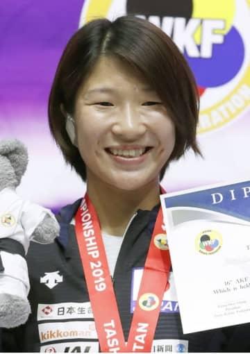 空手の宮原が東京五輪代表確定 組手女子で初 画像1