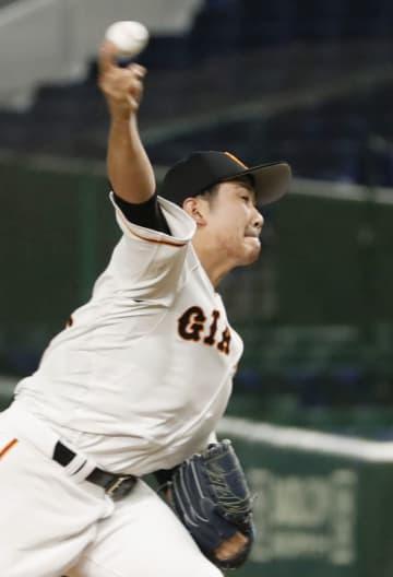 巨3―5ヤ(29日) 開幕投手の巨人菅野、5回1失点 画像1