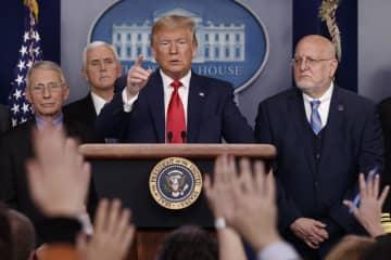 米大統領、FRBに利下げ再要求 感染拡大で対策期待 画像1
