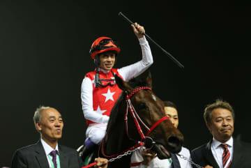 武豊騎乗のフルフラットが優勝 サウジ競馬で日本馬初 画像1