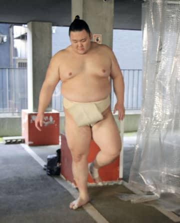 大相撲、朝乃山「やるしかない」 史上初、無観客開催の春場所へ 画像1