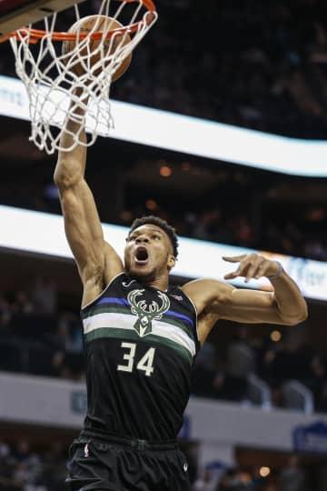 NBA、バックスが6連勝 第19週が終了、ウィザーズ9位 画像1