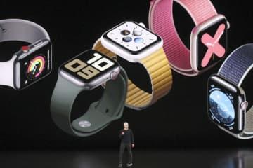 アップル、腕時計で存在感 米キャッシュレス決済でも脅威に 画像1