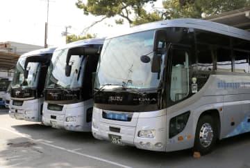 関西の観光バス、乗客減で窮地に 車両売却も、「早く落ち着いて」 画像1