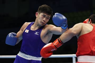 ボクシング、森脇が1回戦突破 イラク選手に完勝、東京五輪予選 画像1