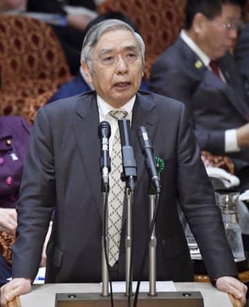 日銀の黒田総裁、新型肺炎を警戒 景気に影響「大きくなる」 画像1