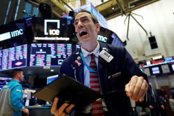 NY株急落、969ドル安 米長期金利は過去最低 画像1