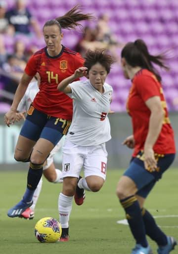なでしこ、スペインに黒星 サッカー女子国際親善大会 画像1
