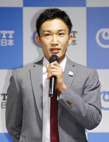 バドの桃田選手「金メダル狙う」 東京五輪へ、事故後初会見 画像1