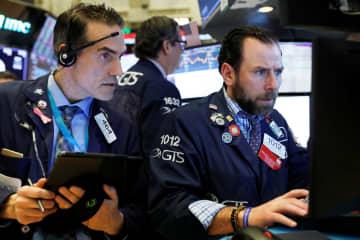 NY株続落、256ドル安 新型コロナ、景気後退懸念 画像1
