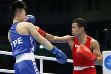 ボクシング五輪予選、岡沢8強へ 勝てば出場決定 画像1