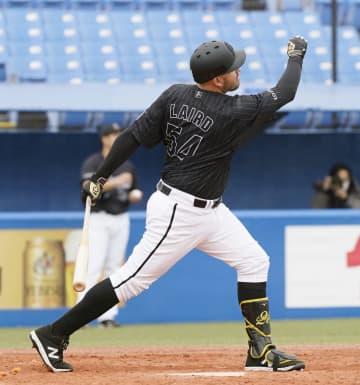 ヤ3―8ロ(7日) レアードが満塁本塁打 画像1