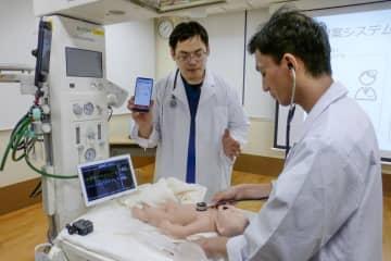 新生児蘇生を遠隔で学習、京大 システムを開発、指導役足りず 画像1