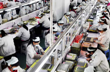 中国、輸出17%急減 日本への輸出減24%と深刻 画像1