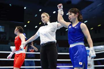ボクシング女子、並木準々決勝へ 五輪アジア・オセアニア予選 画像1