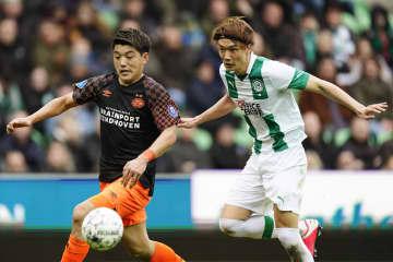 サッカー堂安が12月以来の先発 オランダ1部リーグ 画像1