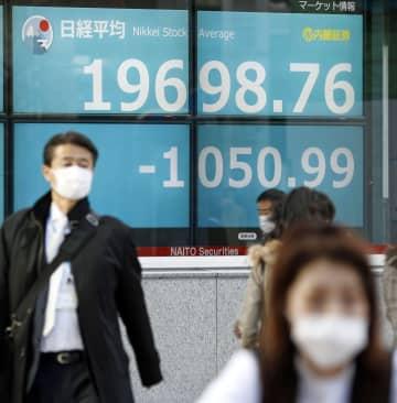 東証大幅続落、終値2万円割れ 円高、原油安が波乱要因 画像1
