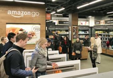 レジなし店舗、技術提供へ 米アマゾン、普及目指す 画像1