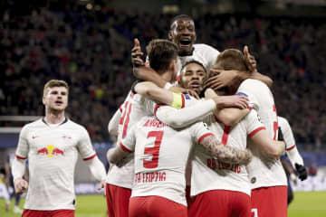 サッカー、ライプチヒが初の8強 欧州CL、アタランタも 画像1