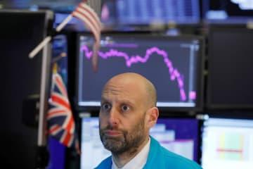 NY株、1100ドル超安 米感染者急増で反落 画像1