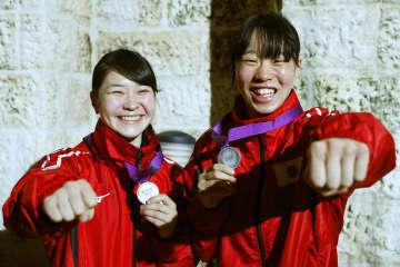 ボクシング、並木と入江は準V 東京五輪予選 画像1