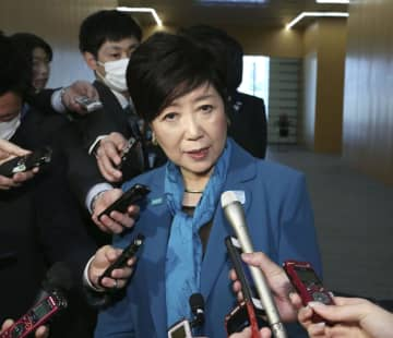 小池知事、東京五輪中止強く否定 国や組織委、IOCと緊密に連携 画像1